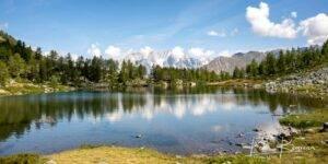 Lago d'Arpy, Valle d'Aosta, Italië